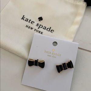 Kate Spade bow stud earrings